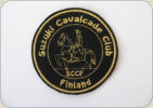 SCCF fabric club badge. Size appr.70mm.