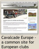 Cavalcade Europe - a common site for European clubs
